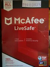 McAfee LiveSafe 2020 5 Devices 1 Year