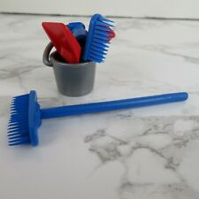 Playmobil Cleaning Supplies - Bucket, Brooms, Dustpan, Toilet Plunger - Janitor