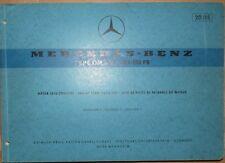 Mercedes Unimog OM 352 / 100 - 110 PS Motor-Ersatzteilliste