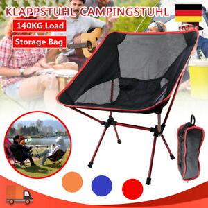 Campingstuhl Outdoorstuhl Faltbar 140kg Klappstuhl Regiestuhl Anglerstuhl Alu
