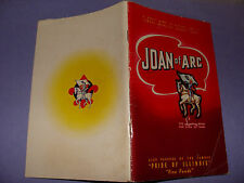 Joan of Arc Pride of Illinois Canning Co. Cook Book  Canned Foods Corn Beans etc
