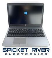 """READ HP ProBook 650 G1 15"""" Core i7-4600M 2.90GHz 500GB HDD 16GB RAM Win10 #55922"""