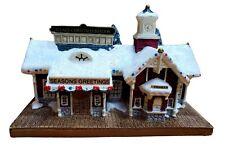 Thomas Kinkade Seasons Greeting Station 25th Anniversary Foam 2009
