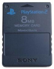 PS2 - Original Sony Memory Card / Memorycard / Speicherkarte 8 MB #schwarz