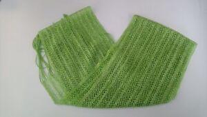 Ladies Scarf Scarves Fashion Accessory Shawl Lace BNWT Green
