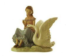 Nao Porcelain Nao Girl with Swan JR30