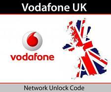iphone Vodafone UK 3GS, 4, 4S, 5, 5S, 5C, 6,6+,6S,6S+,SE Unlock Code Express