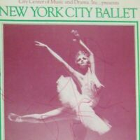 New York City Ballet 63rd Season 1975 Program Nutcracker Signed MISSING PAGES