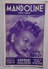 partition MANDOLINE - Lina Margy Maurice Vandair Henri Bourtayre