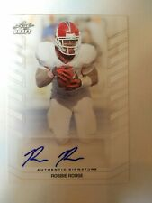 2013 Leaf Draft Robbie Rouse Fresno State Cleveland Browns - Auto White