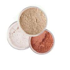3pc Mineral Makeup Set (Bisque) Bare Skin Kit Powder Matte Foundation Organic