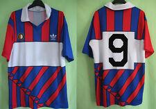 Maillot Adidas Feyenoord 1990 Rotterdam #9 Vintage Football Jersey - L