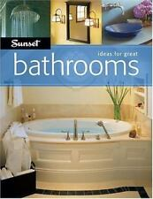 CLEARANCE! Ideas for Great Bathrooms - Sunset Books