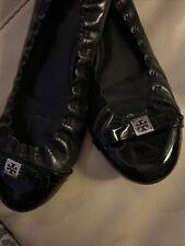 Tory Burch Black Patent Ballet Flats Us8,5 Uk6