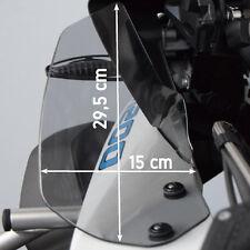 BMW R1200GS LC Adventure,Vergrößerter Windabweiser,wind deflector, Schwarz Matt