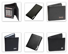 Mens Wallet Real Leather Purse ID Credit Card Holder Coin Pocket Gift New