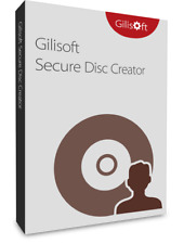 Gilisoft Secure Disc Creator 3 PC, Create Encrypted CD DVD  Disc Protect Data