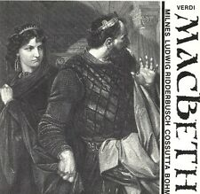 ██ OPER ║ Giuseppe Verdi ║ MACBETH ║ Wien 1970 ║ Christa Ludwig ║ 2CD