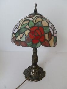 Lamp Lampshade Glass Tiffany & Co Base Liberty IN