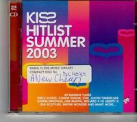 (FH586) Kiss Hitlist Summer 2003, 2CD  - 2003 CD