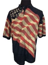 Guide Gear: American Summer Independence Day Men XL Polo Shirt (NEW)