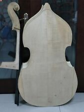 one Unfinished double bass,spruce top  Maple back and neck 3/4,,