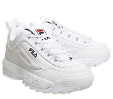 White Size 35-44 Unisex Originale FILA  Disruptor II 2 Authentic Shoes
