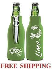Bud Light Lime 2 Beer Bottle Suit Coolers Koozie Coolie Huggie Budweiser New