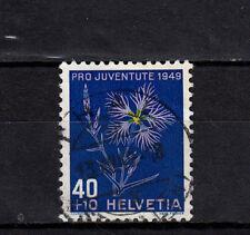 Schweiz  544 Höchstwert aus  Pro Juventute 1949, sauber  gestempelt, siehe Bild