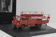 MAN 635 Renntransporter LKW Truck Porsche Renndienst 1:43 Schuco Pro.R