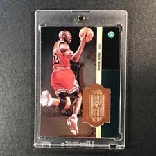 MICHAEL JORDAN 1998 UPPER DECK #S1 SPX FINITE EMBOSSED FOIL CARD SAMPLE BULLS MJ