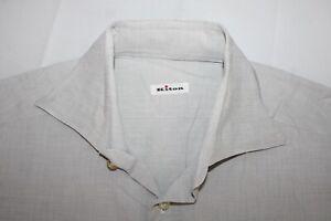 KITON Made in Italy 15.5 / 39 Cotton Dress Shirt