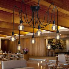 Modern Ceiling Light Lobby Black Chandelier Dinning Room LED Pendant Lighting
