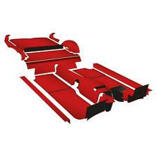 MGB GT Carpet set Left Hand drive Red Nylon Standard 1968-1980 NEW 244-440 Moss