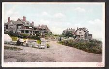1906 shore road & cottages Magnolia Massachusetts postcard