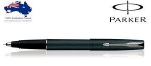 Parker Frontier Matte Black CT Roller Ball Pen Gift Box Brand new