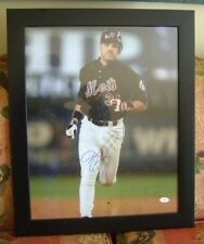 Mike Piazza  HOF autograph picture JSA Mets FREE SHIPPING