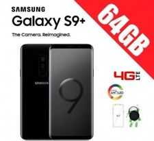 Samsung Galaxy S9+ PLUS 64GB G965 UNLOCKED ORIGINAL- NEGRO  Caja + Accesorios