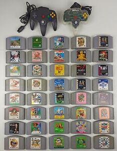 Nintendo 64  joblot 40 games - Lot 40 jeux - bundle 40 giochi - viele 40 Spiele