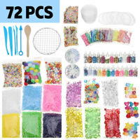 Slime Supplies Kit Foam Beads Charms Styrofoam Balls Tools For DIY Slime