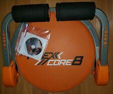 FLEX CORE 8 Ab Machine Body WORKOUT Exercise Machine Sculpturing Fitness & DVD