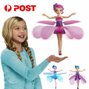 Flying Fairy Princess Dolls Magic Infrared Induction Control Girl Toy Xmas Gift