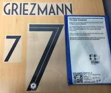Sporting ID Official Nike FRANCE Authentic Away Nameset Print Griezmann 7 18/19