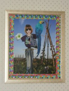 Original Collage (Framed) 'Polly and Anna' by Joyce & Vicky