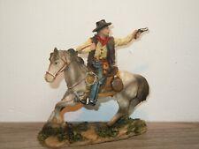 Toy Cowboy on Horse *37775