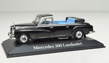 Mercedes-Benz 300 D Landaulet Negro Adenauer Escala 1:43 Von Atlas