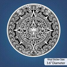 Aztec Calendar / Aztecs / Calendar / Vinyl / Decal / Stickers