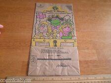 Muppet Treasure Island 1995 McDonalds happy meal bag Jim Henson unused