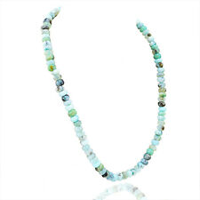 Wonderful Elegant AAA 256.05 Cts Natural Peruvian Opal Unheated Beads Necklace