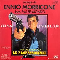 "Ennio Morricone 7"" Le Professionnel (Bande Originale Du Film) - France (VG+/VG+"